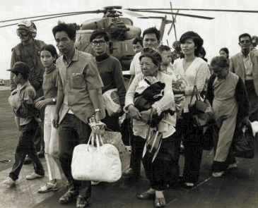 Refugees from Vietnam during Vietnamese refugee crisis